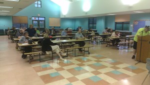 Citizens attending May 19th WGSD school board meeting.