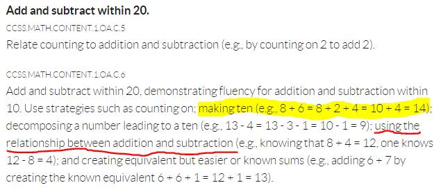 make-ten-first-grade-cc-standard-red-highlight